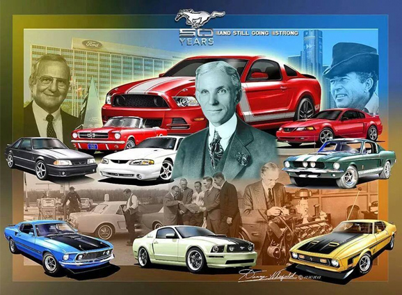 NorthTown Ford 50th Anniversary Of The Mustang